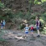Wanderung zu den Schrammsteinen 1...