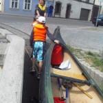 Boot umsetzen