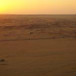 Sonnenuntergang vom Jebel Barka