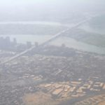 Anflug auf Kairo