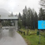 Österreichisch.Slowenische Grenze am Paulitschsattel