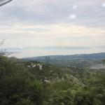 Erster Blick auf die kroatische Küste