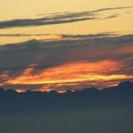 und Sonnenaufgang