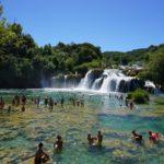 Baden vor dem Wasserfall 1