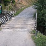 Die erste Brücke in Albanien