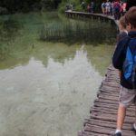 Stege über die Plitvecer Seen