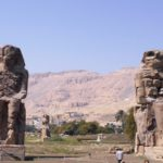 Memnon-Statuen in Theben West