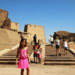 Aufgang zum Horus Tempel