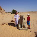 Sphinx in Jebel Barka