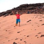Runter vom Jebel Barka