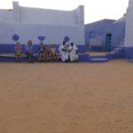 Innenhof des nubischen Hauses in Assuan