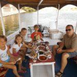 Lunch auf dem Boot