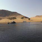 Badestrand am Nil bei Assuan