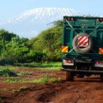 Der Kilimandscharo mit Schnee